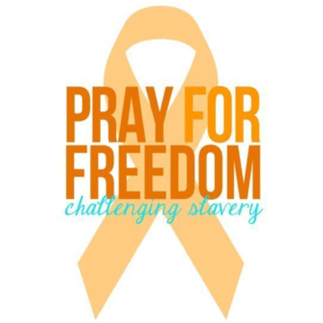 "FREEING SLAVES: Organize a ""Pray for Freedom"" simulcast event in January"